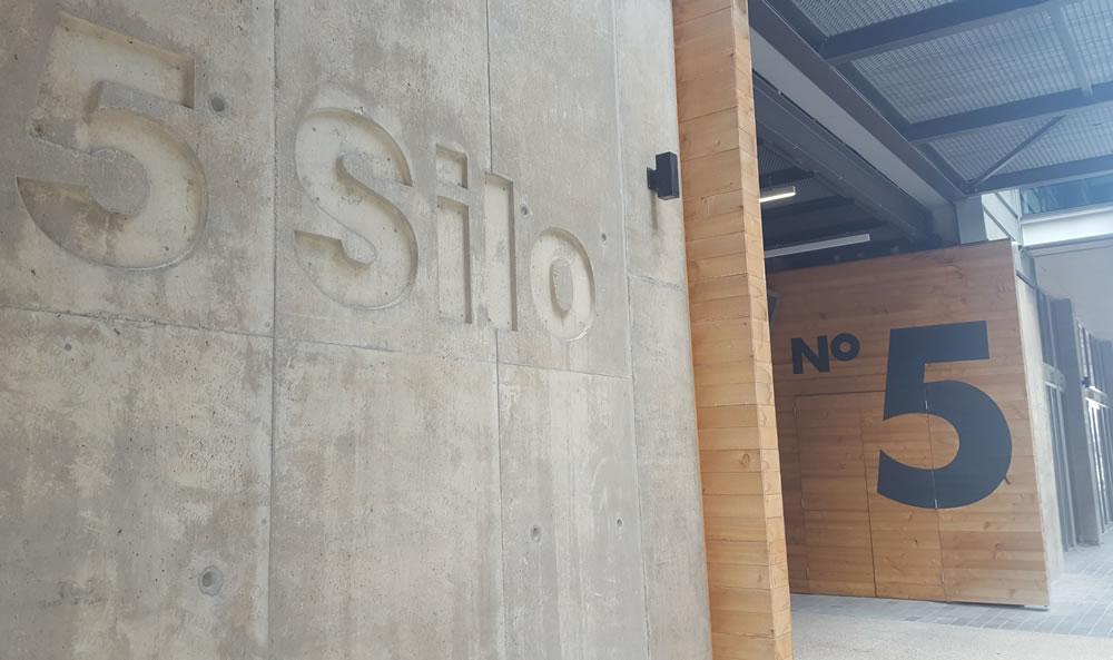 Silo 5 Entrance